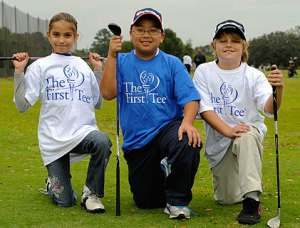 Positive youth development through the game of golf.